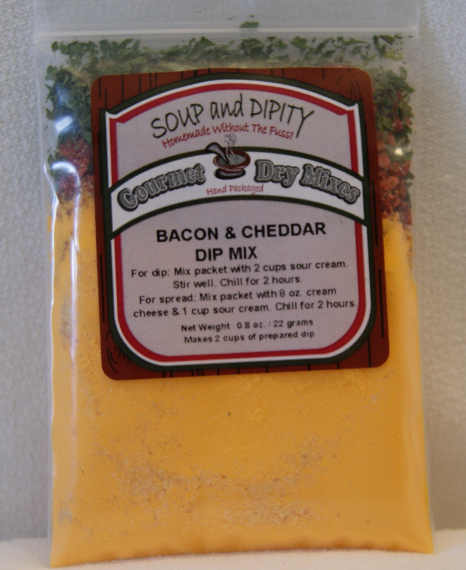 Bacon & Cheddar Dip Mix