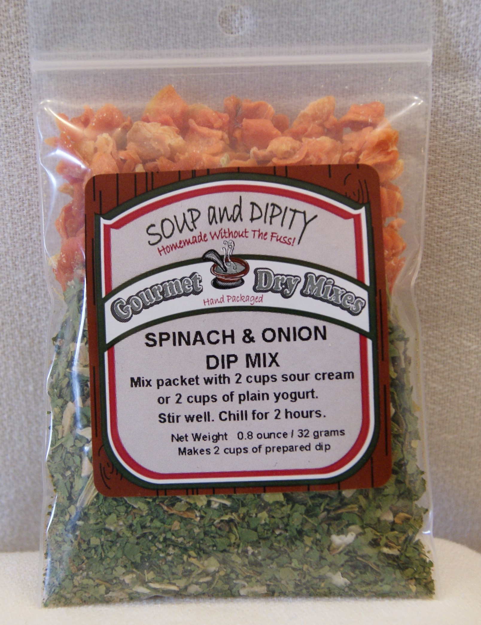 Spinach & Onion Dip Mix